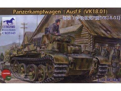 Bronco - Panzerkampfwagen I Ausf.F, Scale: 1/35, 35143