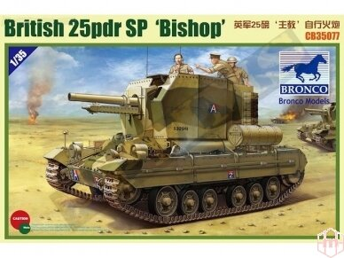 Bronco - Valentine SPG Bishop, Mastelis: 1/35, 35077
