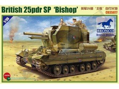 Bronco - Valentine SPG Bishop, Scale: 1/35, 35077