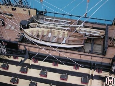 Caldercraft - HMS Victory, Mastelis: 1/72, 9014 7