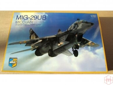 Condor - MIG-29UB Ukrainian training battle fighter, Mastelis: 1/72, 72004