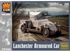 CSM - Lanchester Armoured Car, 1/35, 35001