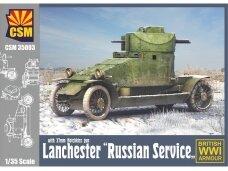 """CSM - Lanchester """"Russian Service"""" with 37mm Hotchkiss gun, 1/35, 35003"""