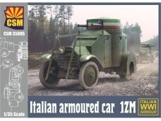 CSM - Italian Armoured Car 1ZM, Scale: 1/35, 35005