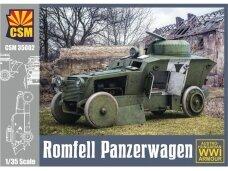 CSM - Romfell Panzerwagen Austro-Hungarian WWI Armour, 1/35, 35002