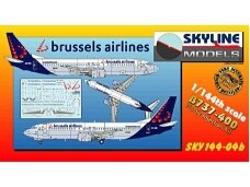 Daco - Boeing 737-400 Plastic Kit Brussels Airlines, Scale: 1/144, SKY144-04B