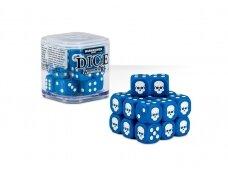 Dice Cube - Blue, 65-36
