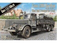 Das Werk - Faun L900 Hardtop 9ton Tank Transporter Truck, Mastelis: 1/35, 35001