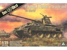 Das Werk - Pz.Kpfw.V Sd.Kfz. 171 Panther Ausf. A Early/Mid w/o interior, Mastelis: 1/35, 35010