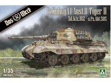 Das Werk - PzKpfwg. VI Ausf.B Tiger II, Mastelis: 1/35, 35013