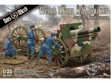 Das Werk - French Schneider 155mm C17S howitzer France, USA, Spain, Germany, 1/35, 35022