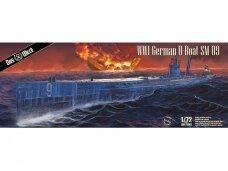 Das Werk - WWI German U-Boat SM U-9, Scale: 1/72, 72001
