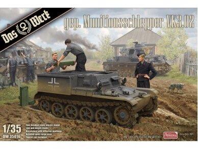 Das Werk - Gepanzerter Munitionsschlepper VK3.02, Scale: 1/35, 35016