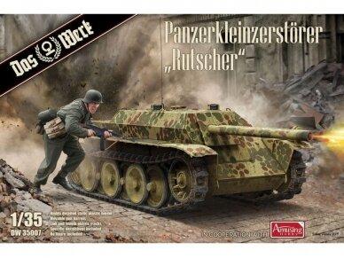 """Das Werk - Panzerkleinzerstörer """"Rutscher"""", Scale: 1/35, 35007"""