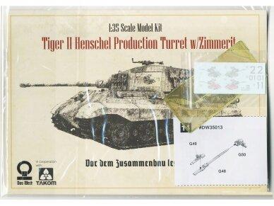Das Werk - PzKpfwg. VI Ausf.B Tiger II, Scale: 1/35, 35013 7