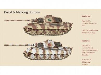 Das Werk - PzKpfwg. VI Ausf.B Tiger II, Scale: 1/35, 35013 8