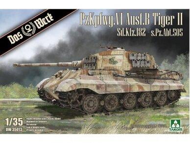 Das Werk - PzKpfwg. VI Ausf.B Tiger II, Scale: 1/35, 35013