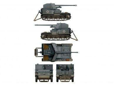 Das Werk - Pz.Sfl. Ia - 5cm Pak 38 auf gp. Mun Schlepper, Scale: 1/35, 35017 5