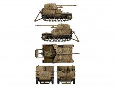 Das Werk - Pz.Sfl. Ia - 5cm Pak 38 auf gp. Mun Schlepper, Scale: 1/35, 35017 4