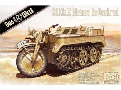 Das Werk - Sd.Kfz.2 kleines Kettenkraftrad, Scale: 1/35, 35020
