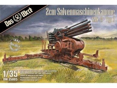 Das Werk - 2cm Salvenmaschinenkanone SMK 18 - Typ 2, Mastelis: 1/35, 35005