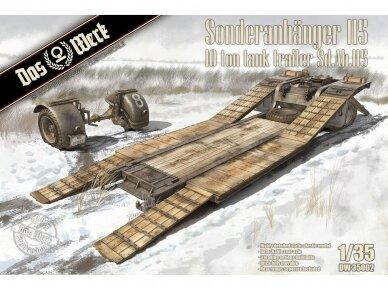 Das Werk - Sonderanhänger 115 10 Ton Tank Trailer Sd.Ah.115, Mastelis: 1/35, 35002