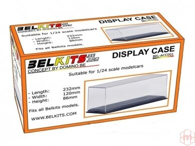Belkits - Display case, for 1/24-1/25 scale cars, BEL-ACC001 2