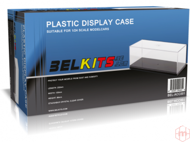 Belkits - Display case, for 1/24-1/25 scale cars, BEL-ACC001