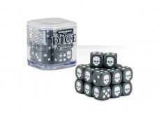 Dice Cube, GREY, 65-36