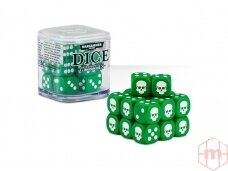 Dice Cube, GREEN, 65-36