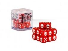Dice Cube, RED, 65-36