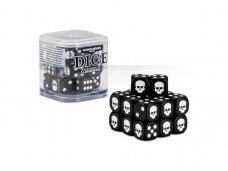 Dice Cube, BLACK, 65-36