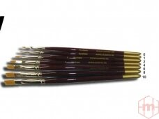 Domino - Penseel Plat Flat brush 8 Kolinsky, 20588