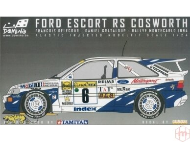Domino - Ford Escort RS Cosworth 1994 Monte Carlo Rally Winner, Mastelis: 1/24, 24144