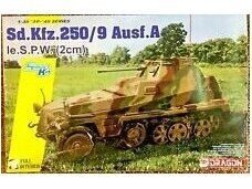 Dragon - Sd.Kfz.250/9 Ausf.A le.S.P.W (2cm) Full Interior, 1/35, 6882