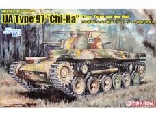 "Dragon - IJA Type 97 ""Chi-Ha"" 57mm Turret and New Hull, 1/35, 6875"