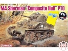 "Dragon - M4 Sherman ""Composite Hull"" PTO, 1/35, 6740"