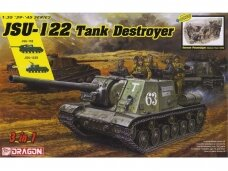 Dragon - JSU-122 vs Panzerjäger (3 in 1) JSU-122, JSU-122S or JSU-152, 1/35, 6787