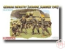 Dragon - German Infantry (Ukraine, Summer 1943), Scale: 1/35, 6153