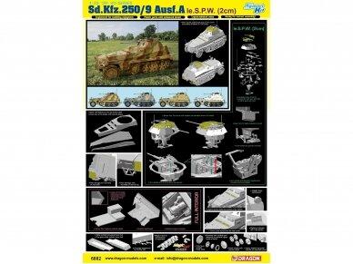 Dragon - Sd.Kfz.250/9 Ausf.A le.S.P.W (2cm) Full Interior, 1/35, 6882 4