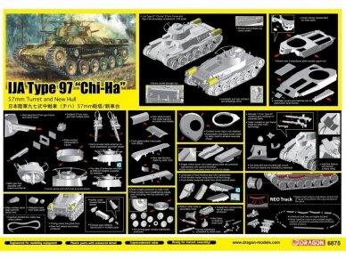 "Dragon - IJA Type 97 ""Chi-Ha"" 57mm Turret and New Hull, 1/35, 6875 3"
