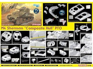 "Dragon - M4 Sherman ""Composite Hull"" PTO, 1/35, 6740 4"