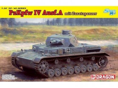 Dragon - Pz.Kpfw. IV Ausf. A mit Zusatzpanzer, 1/35, 6816