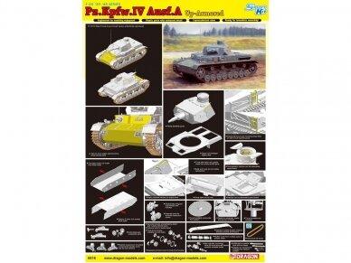 Dragon - Pz.Kpfw. IV Ausf. A mit Zusatzpanzer, 1/35, 6816 4