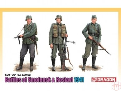 Dragon - Battle Of Smolensk & Roslavl 1941 with Bonus DS Uniform & Boots (Limited), 1/35, 6791