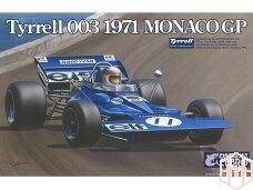 EBBRO - Tyrrell 003 1971 Monaco GP, Scale: 1/20, 20007