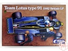 EBBRO - Team Lotus Type 91 1982, 1/20, 20012