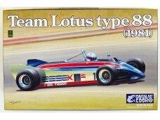 EBBRO - Team Lotus Type 88 1981, 1/20, 20011
