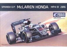 EBBRO - McLaren Honda MP4-31 Spanish GP 2016, Scale: 1/20, 20018