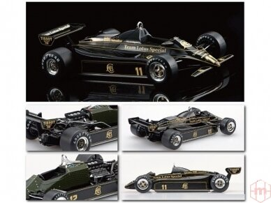EBBRO - Team Lotus type 91 Belgian GP 1982, Mastelis: 1/20, 20019 2